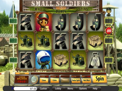 Small Soldiers Slot Slot Reels