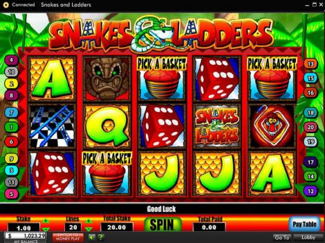 Snakes and Ladders Slot Bonus 1