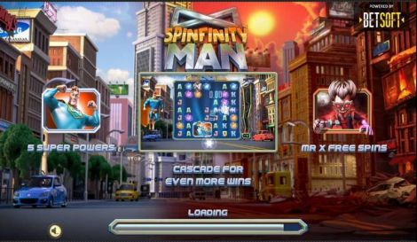 Spinfinity Man Slot