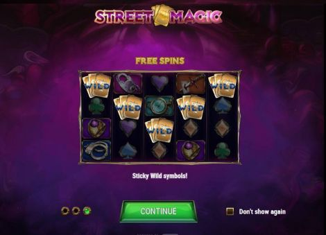 Street Magic Slot Info