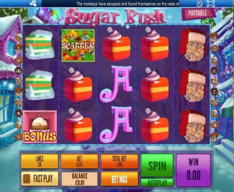 Sugar Rush Winter Slot Slot Reels
