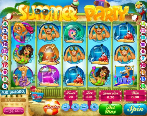 Summer Party Slot Slot Reels