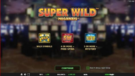 Super Wild Megaways Slot