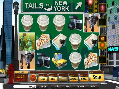 Tails of New York Slot Slot Reels