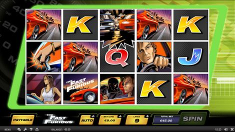 The Fast and the Furious Slot Slot Reels