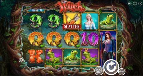 The Witch Slot Slot Reels