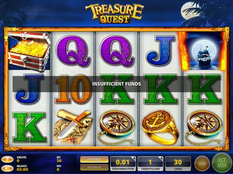 Treasure Quest Slot Slot Reels