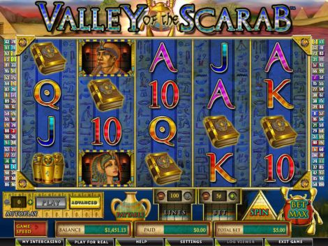 Valley of the Scarab Slot Slot Reels