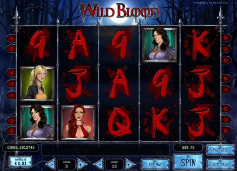 Wild Blood Slot Slot Reels