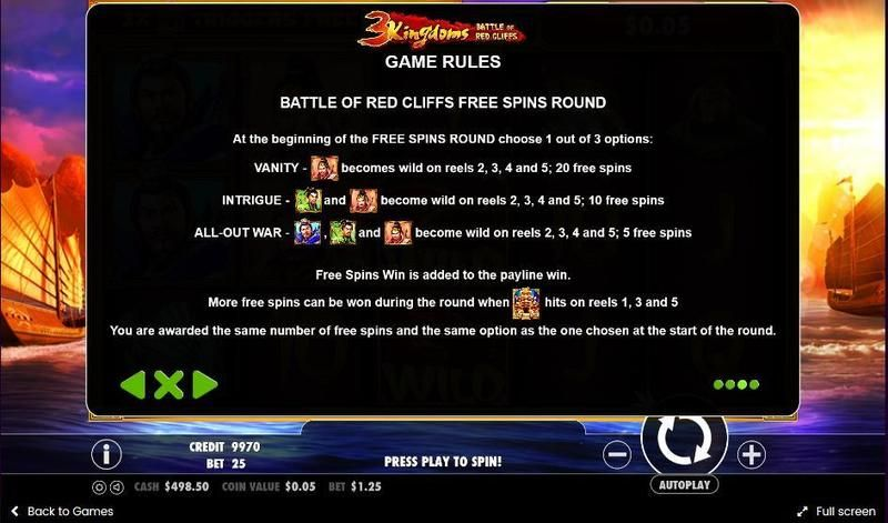 3 Kingdoms - Battle of Red Cliffs Slot - Play for Free Now