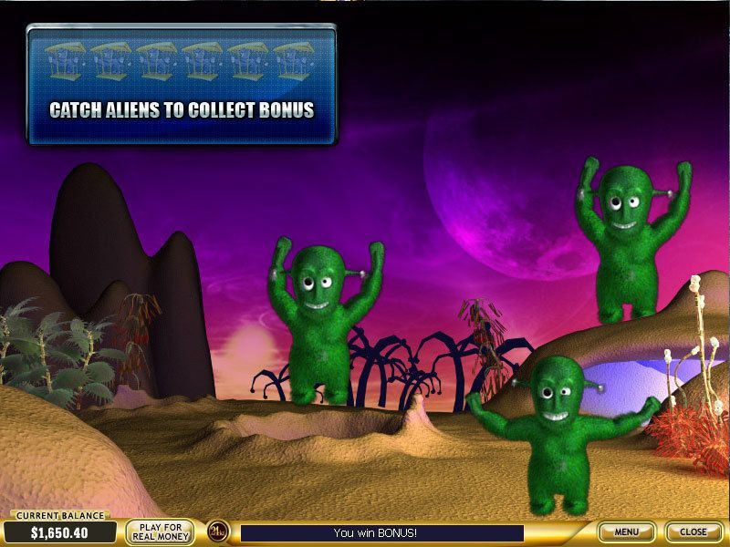 Alien Hunter Slot Bonus 3
