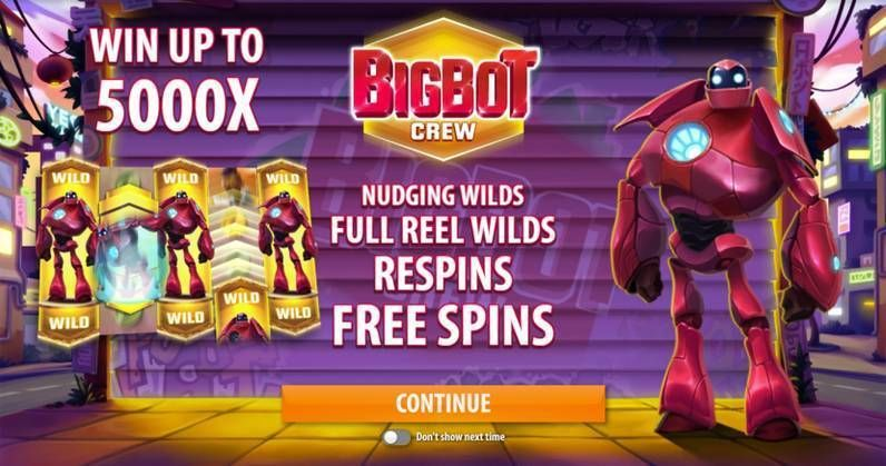 Big Bot Crew Slot Bonus 2