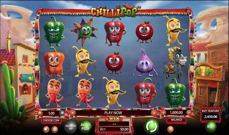 Chillipop BetSoft Slot Slot Reels