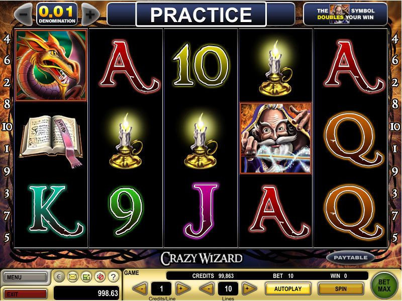 Crazy Wizard™ Slot Machine Game to Play Free in Spielos Online Casinos