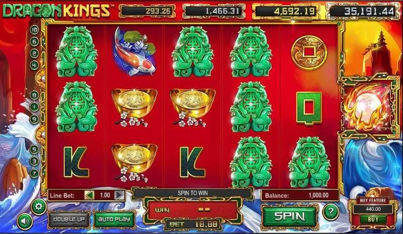 Dragon Kings Slot Slot Reels