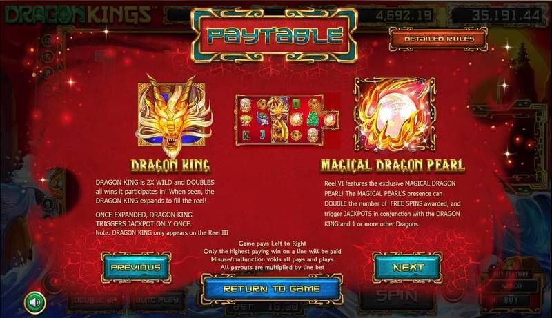 Dragon Kings Slot Bonus 2