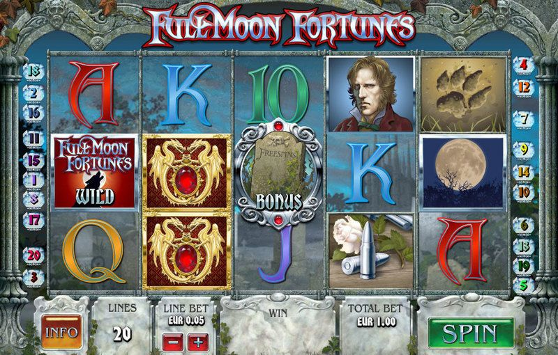 Full Moon Fortunes Slot Slot Reels
