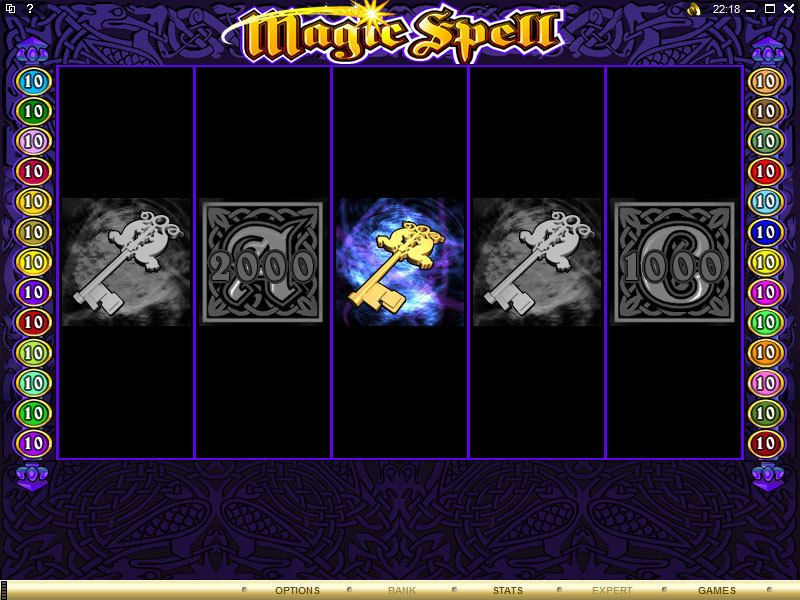 Magic Spell  Microgaming  Slot  bonus1