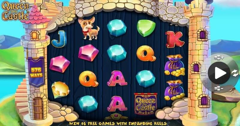 Queen of Castle NextGen Gaming Slot Slot Reels
