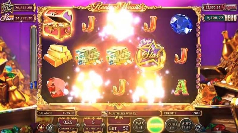 Reels of Wealth Slot Slot Reels