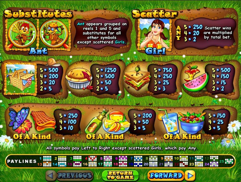 Small Fortune Slot Info