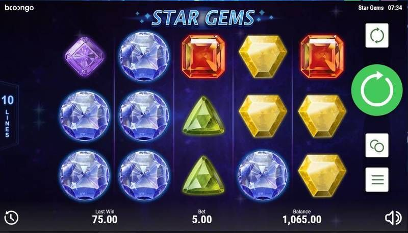 Star Gems Slot Slot Reels