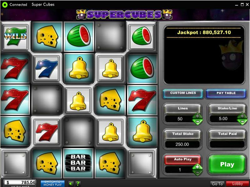 Super Cubes™ Slot Machine Game to Play Free in OpenBets Online Casinos