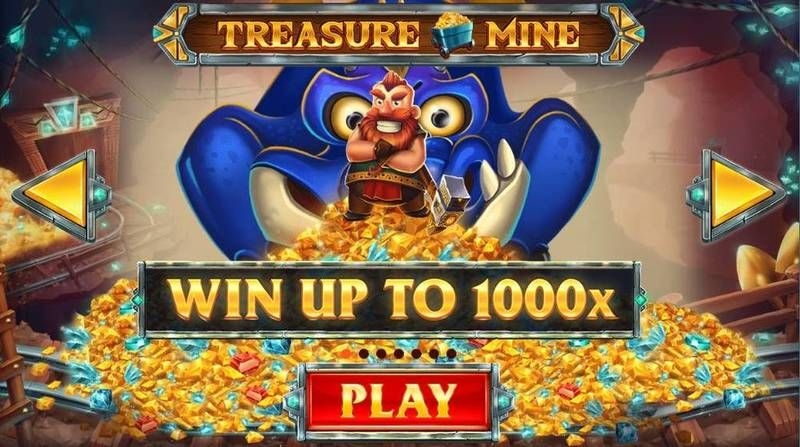 Treasure Mine Red Tiger Gaming Slot Info
