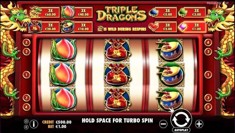 Triple Dragons Slot Slot Reels